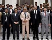 مظفر آباد: چیف جسٹس آزاد جموں و کشمیر سپریم کورٹ جسٹس محمد اعظم خان ..
