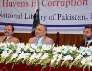اسلام آباد: نیب کے زیر اہتمام نیشنل لائبریری میں منعقدہ سیمینار کے ..