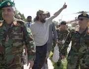 کابل: سابق وزیر اعظم یوسف رضا گیلانی کے بیٹے علی حیدر گیلانی کابل سے ..
