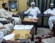 ڈیرہ اسماعیل خان: وزیر اعظم کے دورہ ڈیرہ کے حوالے سے جے یو آئی ف کی ضلعی ..