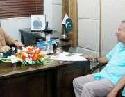 لاہور: وزیر اعلیٰ پنجاب محمد شہباز شریف سے انٹر نیشنل کرکٹ کونسل کے ..
