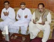 میر پور: وزیر اعظم آزاد کشمیر چوہدری عبدالمجید سابق سیکرٹری قانون راجہ ..