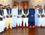 لاہور: گورنر پنجاب ملک محمد رفیق رجوانہ کی طرف سے خیبر پختونخوا اور ..