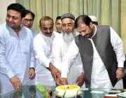 لاہور: ڈپٹی اسپیکر پنجاب اسمبلی سردار شیر علی گورچانی کا ممبران صوبائی ..
