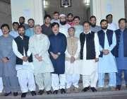 لاہور: اسپیکر پنجاب اسمبلی رانا محمد اقبال خاں کے ہمراہ خیبر پختونخوا ..