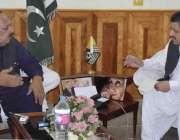 میر پور: وزیر اعظم آزاد کشمیر چوہدری عبدالمجید کو ڈائریکٹر جنرل منگلا ..