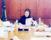 لاہور: صوبائی وزیر ترقی خواتین حمیدہ وحید الدین ویمن پیکجز پر عملدرآمد ..