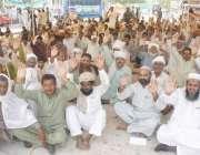لاہور: کسان بورڈ کے زیر اہتمام صدر میاں عبدالرشید کی قیادت میں مال روڈ ..