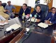 مظفر آباد: وزیر اعظم آزاد کشمیر چوہدری عبدالمجید وزیر اعظم سیکرٹریٹ ..