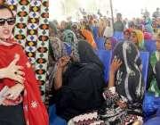 حیدر آباد: بے نظیر انکم سپورٹ پروگرام کی چیئرپرسن ماروی میمن چوہڑ جمالی ..