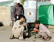 کراچی: جیزکی جانب سے شہریوں کو شدید گرمیوں میں سہولیات فراہم کرنے کے ..