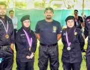 اسلام آباد: اسپیشل سیکیورٹی یونٹ کی خواتین کمانڈوز جنہوں نے پنجاب پولیس ..