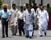 لاہور: صوبائی وزیر قانون رانا ثناء اللہ پنجاب اسمبلی کے اجلاس میں شرکت ..