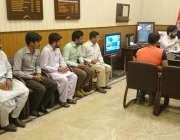 لاہور: ڈی آئی جی آپریشنز ڈاکٹر حیدر اشرف ہیومن ریسورس مینجمنٹ سسٹم ..