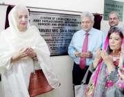 لاہور: صوبائی وزیر ہائر ایجوکیشن بیگم ذکیہ شاہنمواز سر گنگا رام ہسپتال ..