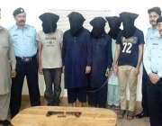 اسلام آباد: پولیس کے سپیشل یونٹ کی کاروائی کے دوران ڈکیتی کی کاروائی ..