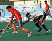 اسلام آباد: پنجاب اور خیبر پختونخوا کی ہاکی ٹیموں کے درمیان کھیلے جانیوالے ..