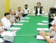 لاہور: صوبائی وزیر زراعت ڈاکٹر فرخ جاوید وزیر اعظم پاکستان محمد نواز ..