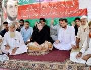 پشاور: تحریک انصاب باڑہ خیبر ایجنسی کے کارکنان اپنے مطالبات کے حق میں ..