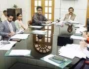 لاہور: صوبائی وزیر قانون و پارلیمانی امور رانا ثناء اللہ سے سول سیکرٹریٹ ..