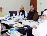 لاہور: چیئرمین صوبائی زکوٰة کونسل جسٹس (ر) اختر حسن کونسل کے 163ویں اجلاس ..