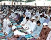 راولپنڈی: قدیمی جامعہ مسجدمیں شہری رمضان المبارک کے پہلے جمعةالمبارک ..