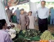 سرگودھا: ایم ڈی پنجاب ایجوکیشن فاؤنڈیشن طارق محمود رمضان بازار شاہین ..