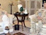 اسلام آباد: وزیر داخلہ چوہدری نثار علی خان سے ڈی جی اینٹی نارکوٹکس فورس ..