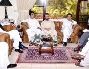 پشاور: وزیر اعلیٰ خیبر پختونخوا بجٹ سے متعلق اجلاس کی صدارت کر رہے ہیں۔