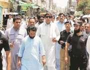 اٹک: رکن صوبائی اسمبلی جہانگیر خانزادہ حضرو سستا رمضان بازار کا دورہ ..