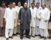 میرپور: وزیر اعظم آزاد کشمیر چوہدری عبدالمجید کا پوٹھ بینسی میں پارٹی ..