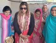 مظفر آباد: پاکستان تحریک انصاف آزاد کشمیر کی مرکزی نائب صدر و امیدوار ..