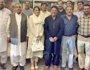لاہور: تحریک انصاف کے رہنما جمشید اقبال چیمہ کی طرف سے کالم نگاروں اور ..