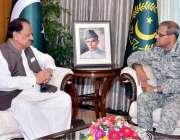 اسلام آباد: صدر مملکت ممنون حسین سے ایئرچیف مارشل شہیل امان ملاقات ..