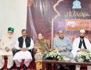 راولپنڈی: سینیٹر نجمہ حمید، ڈاکٹر جمال ناصر، ڈاکٹر غضنفر مہدی، پیر ..