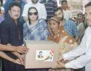 لاہور: تحریک انصاف کے مرکزی رہنما جمشید چیمہ اور مسرت چیمہ حلقہ این ..
