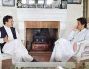 اسلام آباد: چیئرمین پاکستان تحریک انصاف عمرا ن خان سے افغان سفیر ڈاکٹر ..
