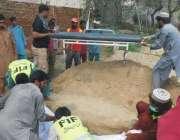 قصور: ڈی سی او عمارہ خان دریائے ستلج میں ممکنہ سیلاب کی روک تھام اور ..