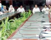 لاہور: مشیر وزیر اعلیٰ پنجاب برائے صحت خواجہ سلمان رفیق کابینہ کمیٹی ..