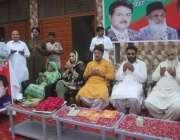 لاہور: تحریک انصاف کے مرکزی رہنما جمشید اقبال چیمہ حلقہ این اے 124کے ..