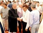 کراچی: چانسلر سر سید یونیورسٹی آف انجینئرنگ اینڈ ٹیکنالوجی جاوید انور ..