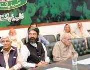لاہور: نظریہ پاکستان ٹرسٹ کے زیر اہتمام ایوان کارکنان تحریک پاکستان ..