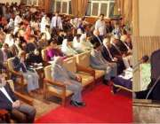 لاہور: گورنر پنجاب ملک محمد رفیق رجوانہ لارنس کالج گھوڑا گلی میں 156 ..