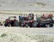 کوئٹہ: بلوچستان کے علاقے لورالائی میں ایک خانہ بدوش خاندان نے ٹریکٹر ..