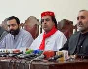 کوئٹہ: عوامی نیشنل پارٹی بلوچستان کے صوبائی صدر اصغر خان اچکزئی ، اپوزیشن ..