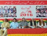 کوئٹہ: بلوچستان نیشنل پارٹی کے زیر اہتمام سانحہ آٹھ اگست کے حوالے سے ..
