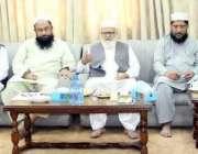 لاہور: وزیر دفاع پاکستان کونسل کی سٹیئرنگ کمیٹی کے چیئرمین لیاقت بلوچ ..