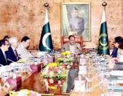 اسلام آباد: صدر ممنون حسین اعلیٰ سطحی اجلاس کی صدارت کر رہے ہیں۔