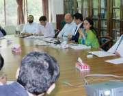 لاہور: صوبائی وزیر خزانہ ڈاکٹر عائشہ غوث پاشا ای ایگری کریڈٹ کارڈ کی ..