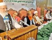 راولپنڈی: پریس کلب میں منعقدہ میڈیا سیمینار سے مہمان خصوصی لیاقت بلوچ ..